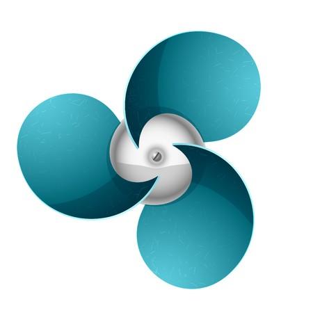 air flow: Ventilatore. Ventilatore.  Vettoriali