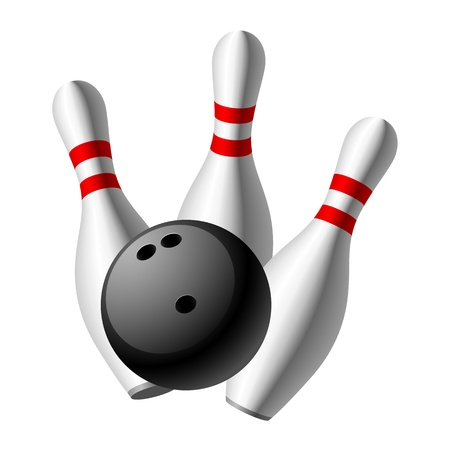 sphere standing: Bowling