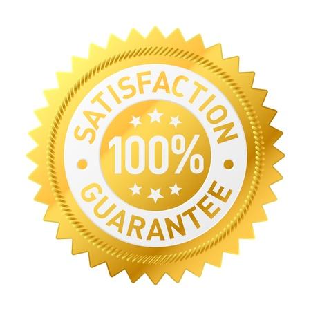 medallion: Guarantee label