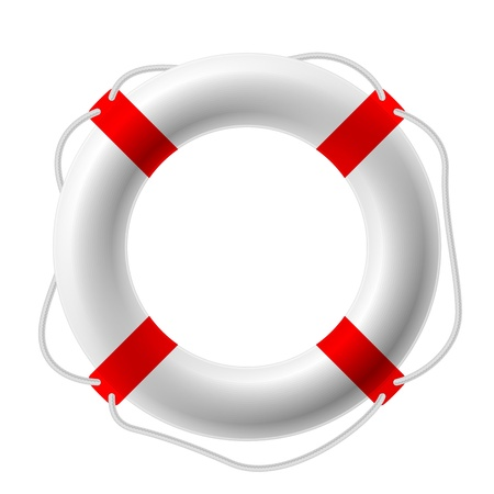 rubber ring: Life buoy