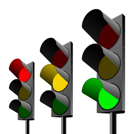 Traffic lights Stock Photo - 9690089