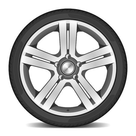 Car wheel  photo