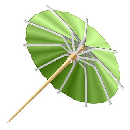 paper umbrella: Cocktail umbrella