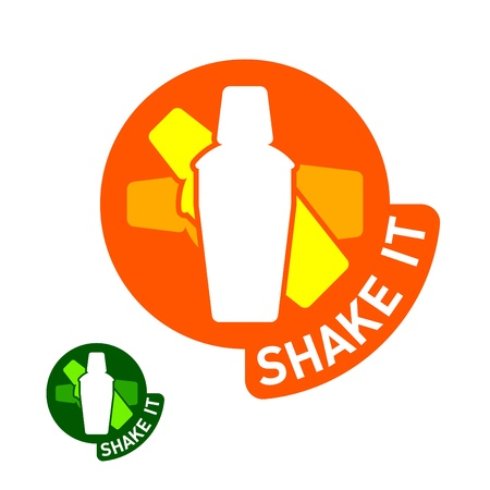 shaker: Shake it sticker