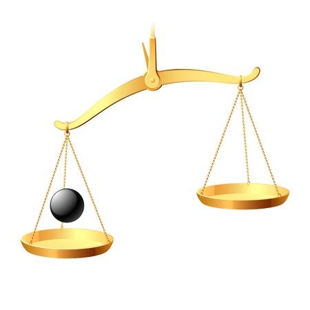 balanza en equilibrio: Equilibrio
