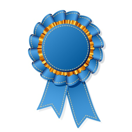 Jean award ribbon  Vector