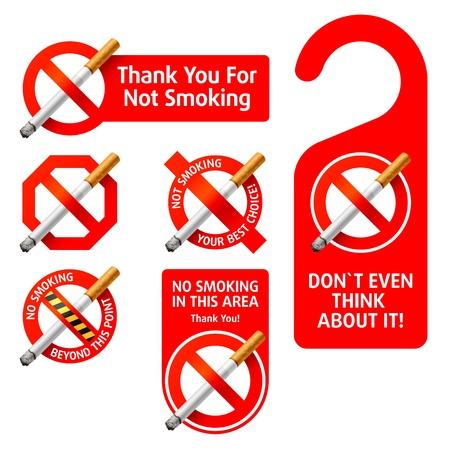 fumando: No hay signos de fumar
