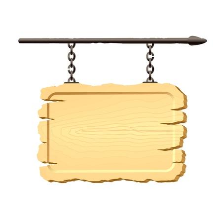 letrero: Señal en cadenas