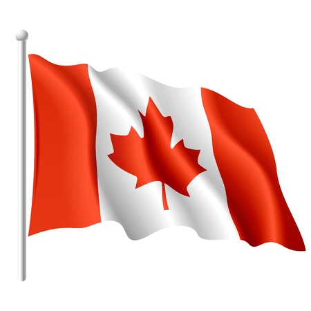 Flag of Canada Stock Photo - 9727039