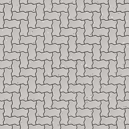cobble: Marciapiede seamless Vettoriali