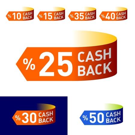 Cash-Back Stock Vector - 9882084