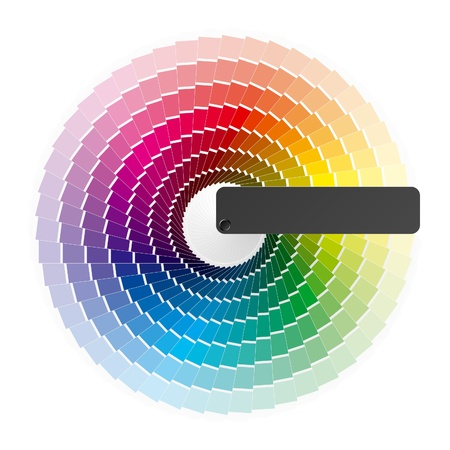 color chart: Color wheel