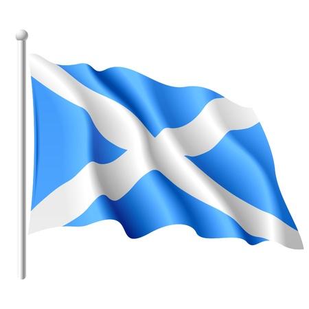 Flag of Scotland Stock Vector - 9882133