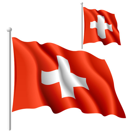 Flag of Switzerland Stock Vector - 9882125
