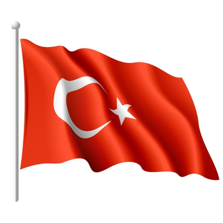 travel star: Flag of Turkey