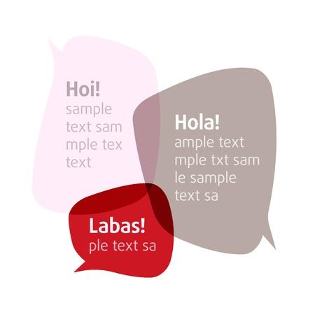 мысль: Bubbles.  Add your text Иллюстрация