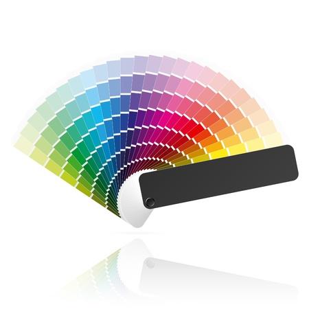 Color fan Vector