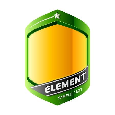 Design element. Add your information. Vektorové ilustrace