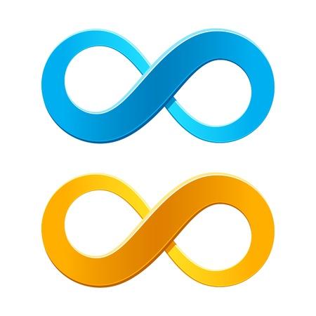 Infinity symbol Stock Vector - 9882224