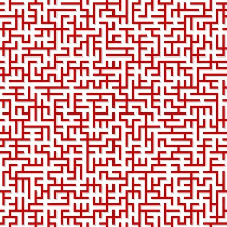Labyrinthe. Illusration sans soudure.