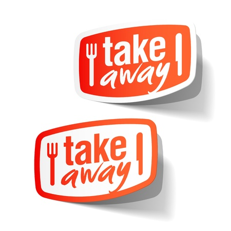take out: Takeaway labels
