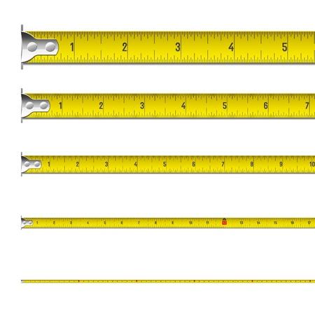 ?tapes: Ruban � mesurer en pouces