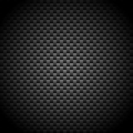 Fibra de carbono Ilustración de vector