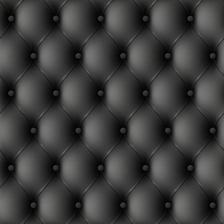 rippled: Rivestimento in pelle nera. Illustrazione senza soluzione di continuit?. Vettoriali
