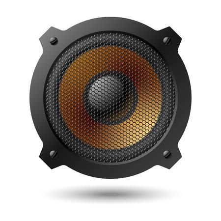 equipo de sonido: Altavoz Vectores