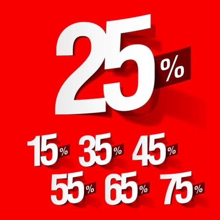 Sale percents Stock Vector - 9882473