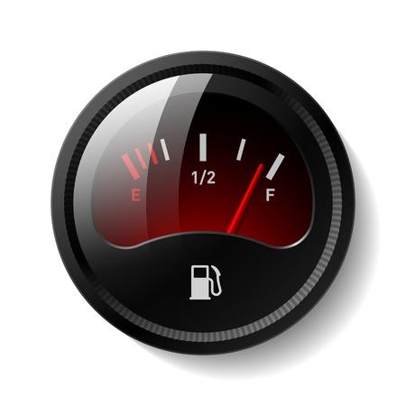 tanque de combustible: Indicador de combustible