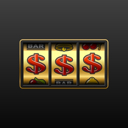 slot in: Dollar jackpot - winning in slot machine