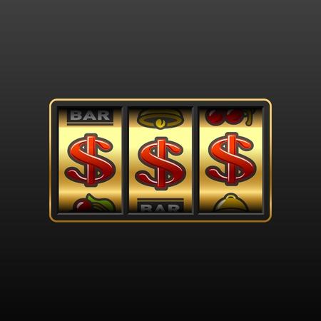 slot: Dollar jackpot - winning in slot machine