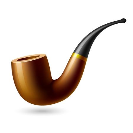 pipe smoking: Tabak-Rohr