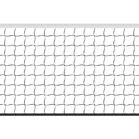 Seamless volleyball net
