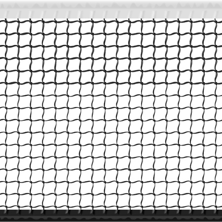 hard court: Seamless tennis net