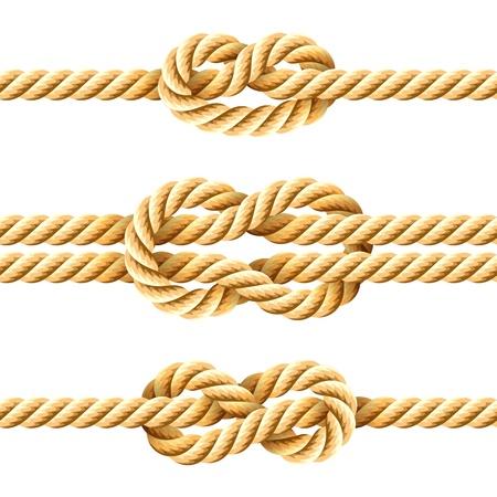 nudos: Nudos de cuerda