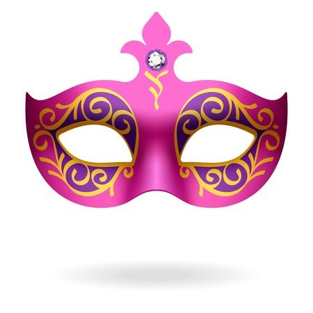 mardi gras: Maschera di Carnevale