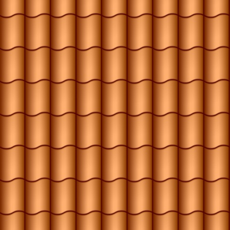 roof tiles: Seamless roof tiles