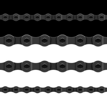 cadenas: Cadena de la bicicleta perfecta
