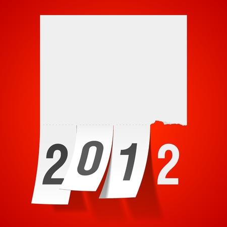 next year: New Year greeting