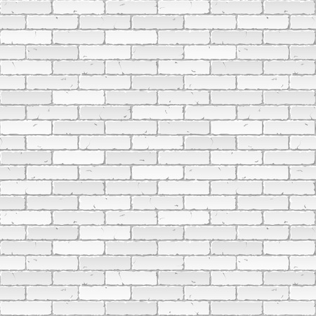 concrete blocks: White brick wall