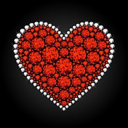 Diamante corazón