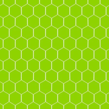 Soccer goal net. Seamless illustration. Stock Vector - 12345623