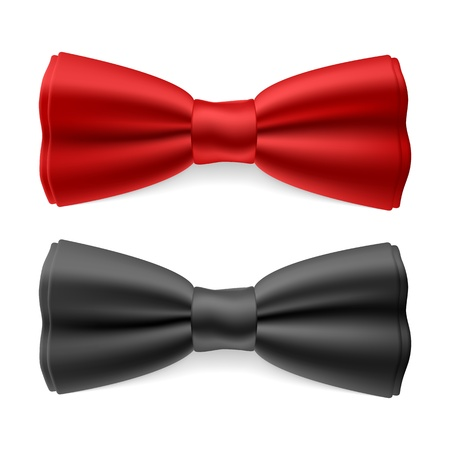necktie: Bow tie Illustration