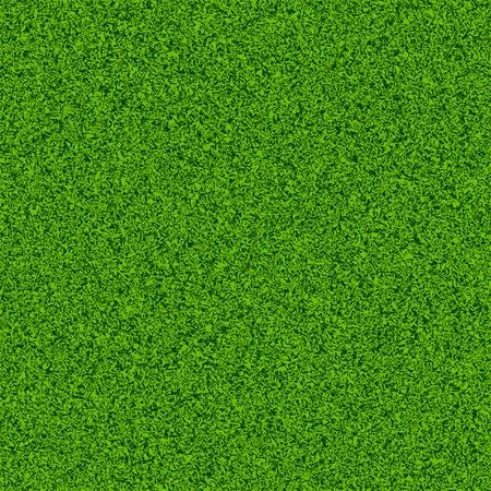 Campo in erba verde. Illustrazione Seamless. Vettoriali