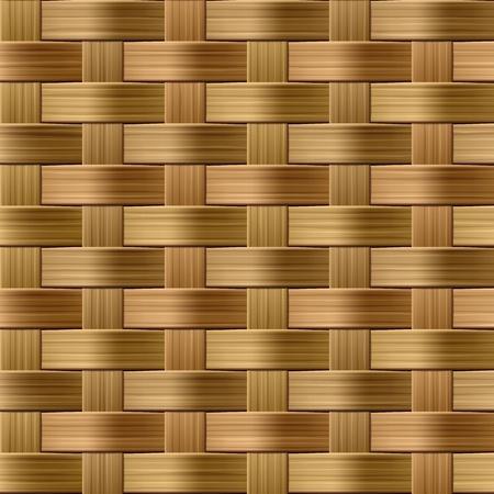 entwine: Wicker pattern. Illustrazione Seamless. Vettoriali