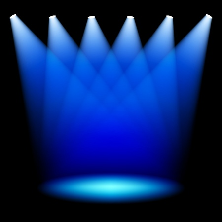 stage projector: Stage spotlights