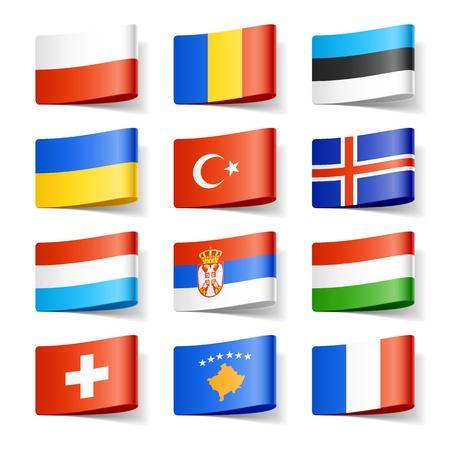 bandiera: Bandiere Mondo Europa