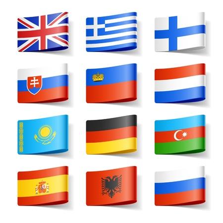 albanie: Drapeaux du monde l'Europe
